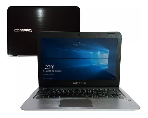 Notebook Compaq Presario Cq17 Dual Core 4gb 500gb W10