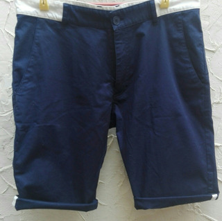 Short Le Coq Sportif Azul Perfecto Estado Seminuevo Talla 30