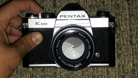 Pentax K1000 Com 50mm F/1.7