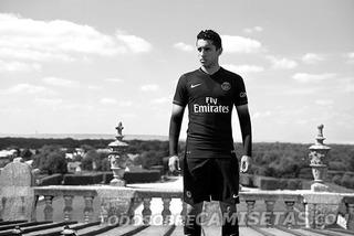 Jersey Nike Paris Saint Germain Versión Jugador Color Negro