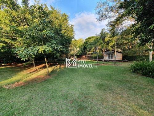 Imagem 1 de 25 de Terreno À Venda, 3000 M² Por R$ 2.500.000 - Fazenda Vila Real De Itu - Itu/sp - Te1192