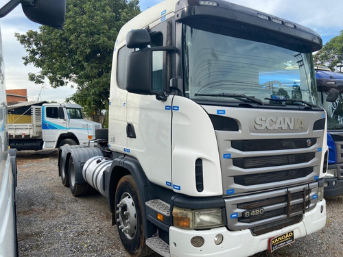 Scania Branco G 420 6x4