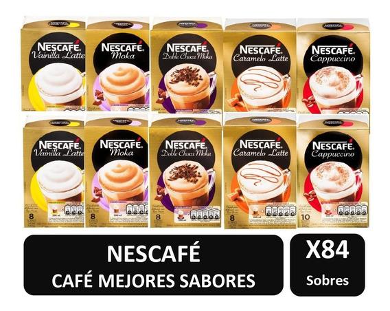 Cafe Nescafe Mejores Sabores X10 Cajas