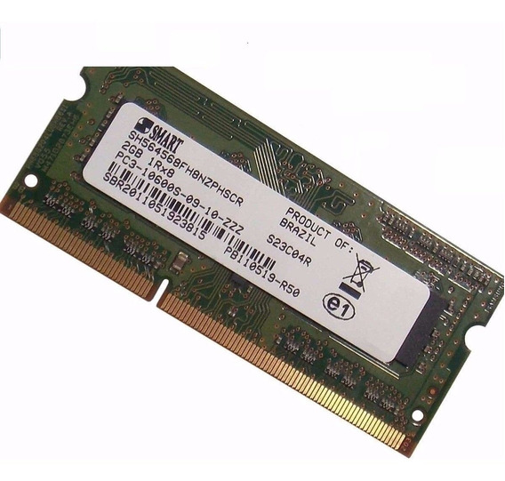 Memória Ddr3 2gb Smart Pc3-10600s-09-10-z