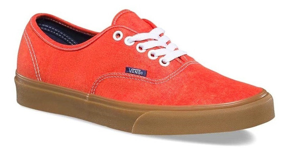 Tenis Vans Color Naranja Deslavado Original Nuevos #26