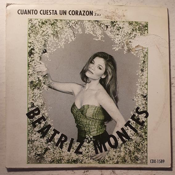 Cd Beatriz Montes + Cuanto Cuesta Un Corazon + Promo