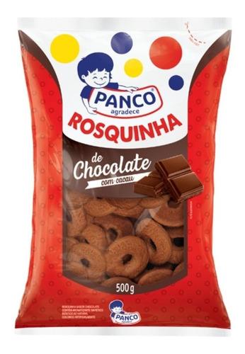 Rosquinha Chocolate Biscoito Panco 500grs