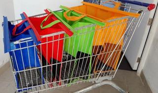 Bolsas Ecológicas Reutilizables Para Supermercado