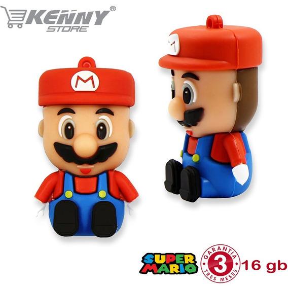 Pendrive Personalizado 16gb Super Mário Bros