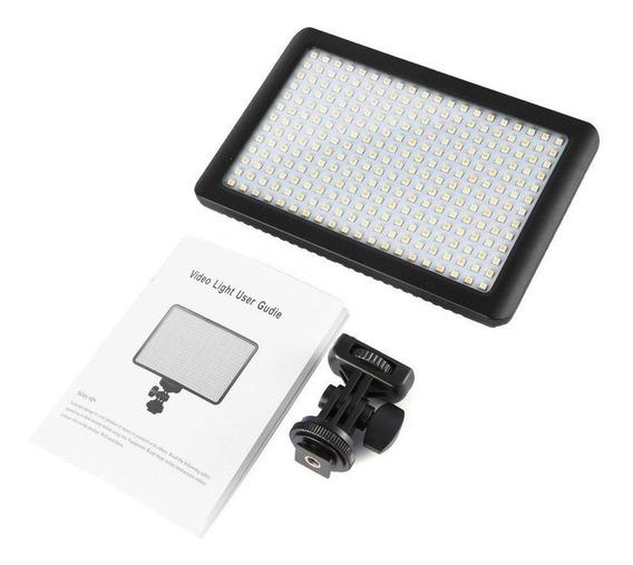 Pad 192 Leds Iluminador Dslr Canon Nikon Fuji Fotografia
