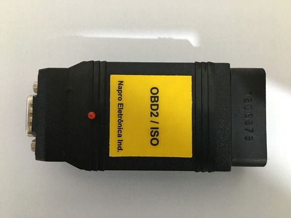 Conector Obd2iso Do Scanner Pc 3000 Usb Napro