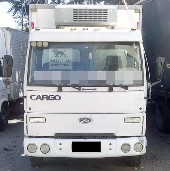 Cargo 815 05/05 Baú Refrigerado 4,80c X 2,20l 2,30a Otimo *