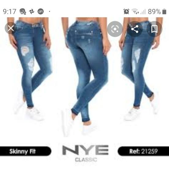 Jeans Verox Y Otros Colombianos Push Up Talle 10/40 Oferta
