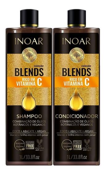 Coleção Shampoo E Condicionador Blends Inoar Full
