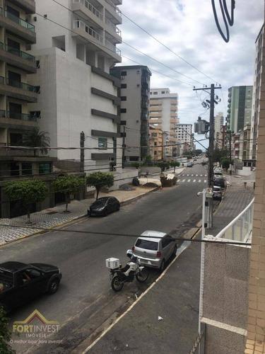 Imagem 1 de 10 de Apartamento Com 2 Dormitórios À Venda, 90 M² Por R$ 235.000 - Vila Guilhermina - Praia Grande/sp - Ap2121