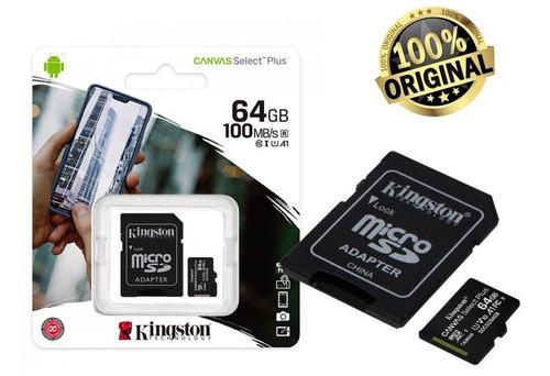 Imagem 1 de 3 de Cartão De Memória 64gb Sdcs2 Canvas Select Plus Original