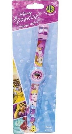 Relogio Infantil Digital Pulso Disney Princesas 4657 Dtc
