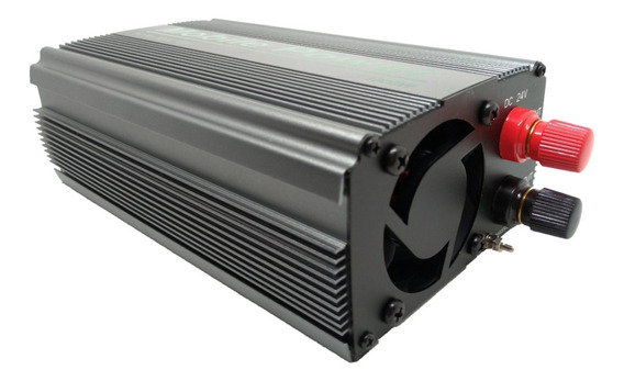 Inversor De Energia 1000w Transformador Conversor 24v P/110v