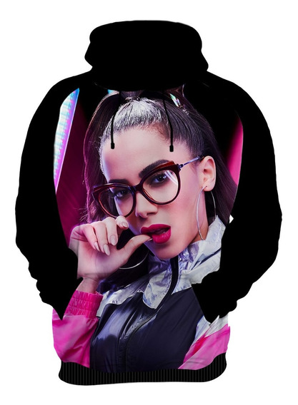 Camiseta Blusa Moletom Casaco Cantora Anitta Funk Pop 03
