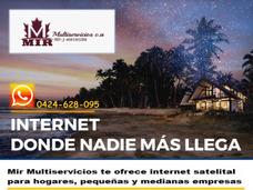 Internet Satelital , Para Residencias Y Empresas Dedicado