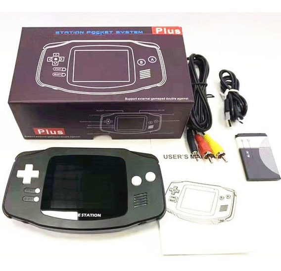 Game Box Retro Station Pocket System Gb-60