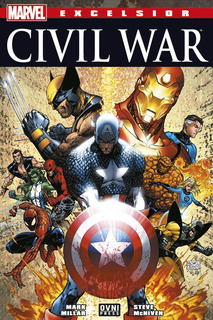 Cómic, Marvel, Excelsior: Civil War. Ovni Press