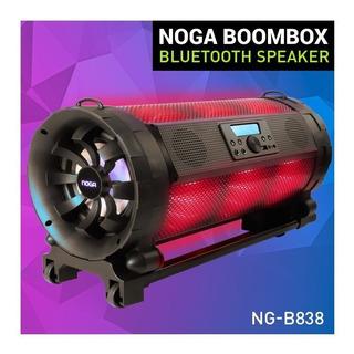 Noga Boombox Parlante Potenciado Karaoke Bluethooth Portátil
