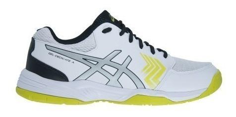 Tenis Asics Dedicate Branco/amarelo ( Super Oferta )