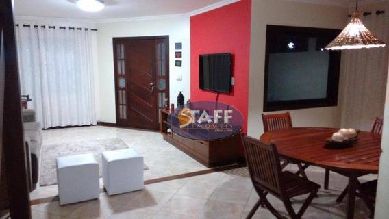 Casa Com 03 Dormitórios Para Aluguel Fixo, 135 M² Por R$ 2.500,00/mês - Bairro Ogiva - Cabo Frio-rj - Ca1232