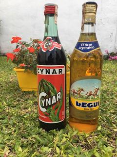 Combo Antiguo Aperitivo Cynar Y Licor Legui