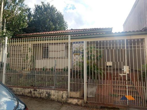 Casa Comercial Para Venda E Locação, Vila São João, Limeira. - Ca0210