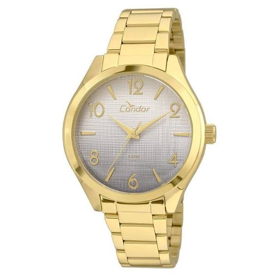 Relógio Condor Feminino Dourado Co2035krs/4c