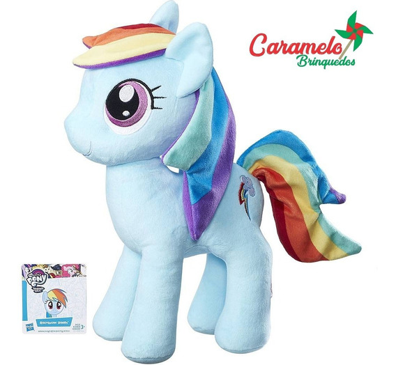 Pelúcia My Little Pony Rainbow Dash - Hasbro
