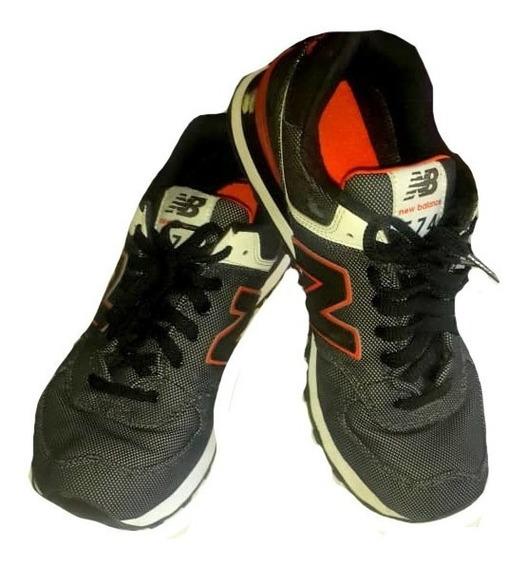 New Balance 574 Negras - Zapatillas Usado en Mercado Libre ...