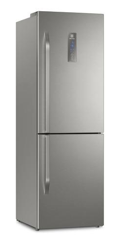 Imagen 1 de 3 de Heladera no frost Electrolux ERBR11 acero inoxidable con freezer 346L 220V