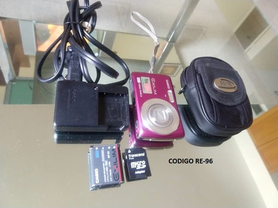 Cámara Fotográfica Digital Casio Exilim 12.1 Mp Usada
