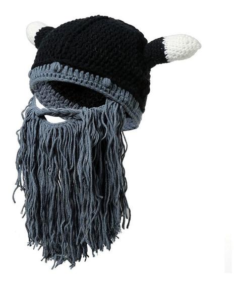 Lz096 Personalidade Chapéu De Ox Chifre Outono Inverno Chap