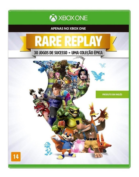 Rare Replay - 30 De Sucesso Jogos Xbox One - Compre Aqui!