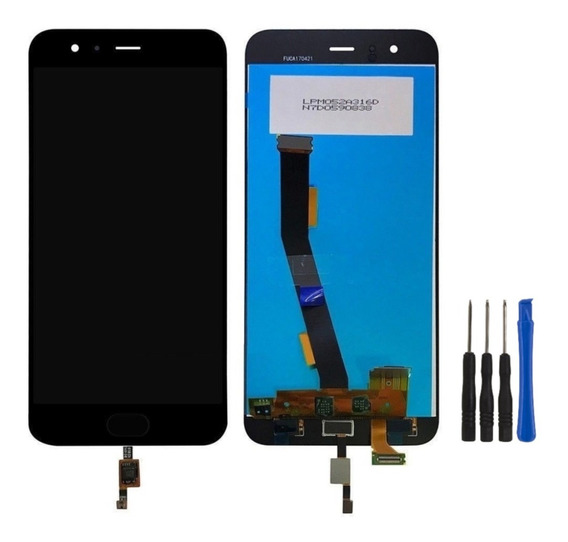 Display Lcd Xiaomi Mi 6 Visor Tela Touch+ Leitor Biométrico