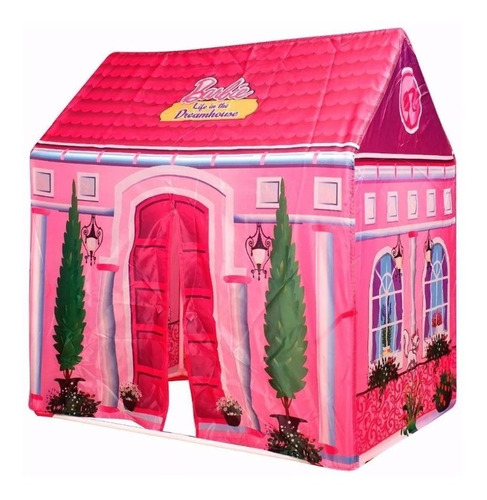 Casita Fashion Barbie Dream House Carpa Original Tv Lelab
