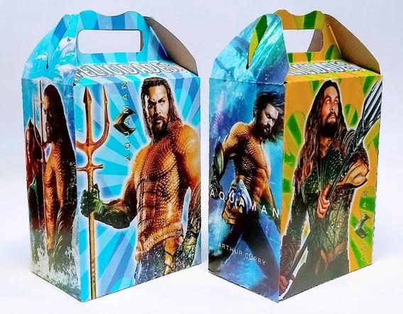 Aquaman 25 Cajas Dulceras Articulos De Fiesta