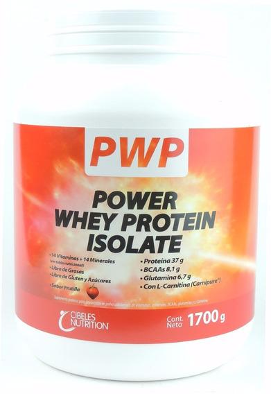 Whey Protein Isolate Pwp Cibeles 1700gr Frutilla