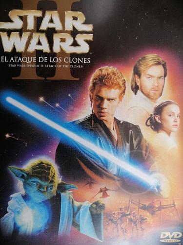Imagen 1 de 3 de Star Wars I I El Ataque De Los Clones (dvd) Original