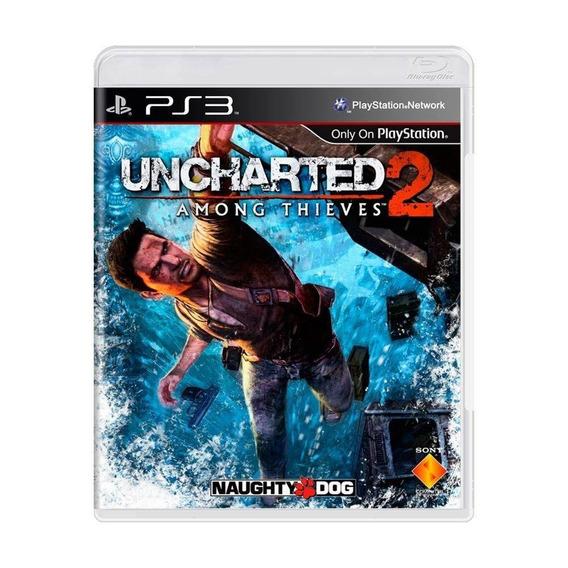 Jogo Uncharted 2: Among Thieves - Ps3 Mídia Física