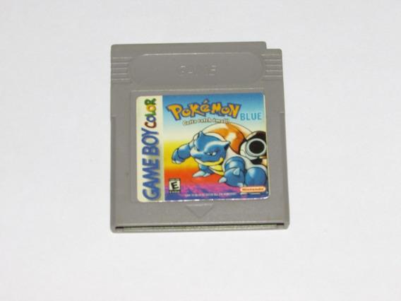 Pokémon Blue Paralelo Para Game Boy Collor