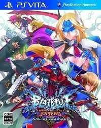 Jogo Blazblue Continuum Shift Extend Original Para Psvita