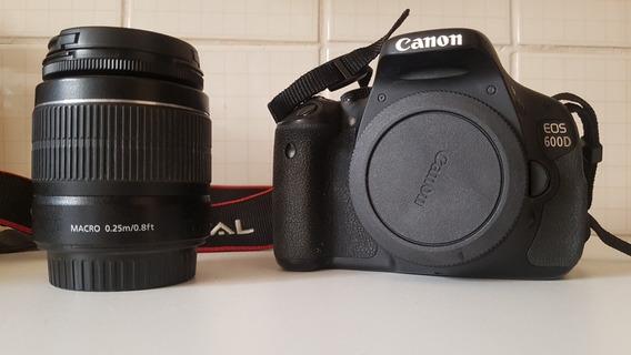 Canon Eos Canon 600d (t3i) Completa