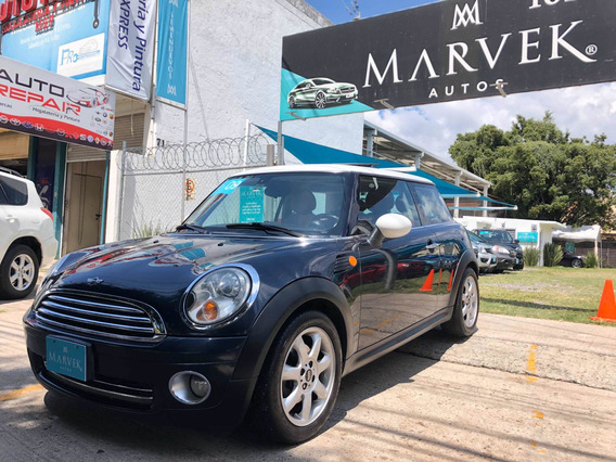 Mini Cooper 1.6 Pepper Aa Piel Qc At 2009