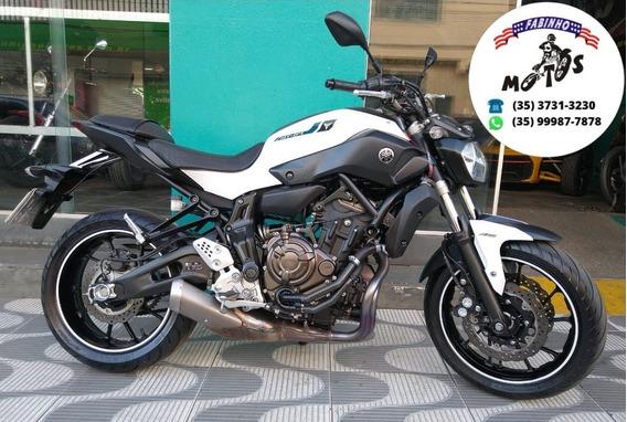 Yamaha Mt 07 Abs 2018 Branca Novíssima!!!