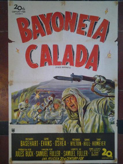 Afiche Original 1 X 70 Bayoneta Calada